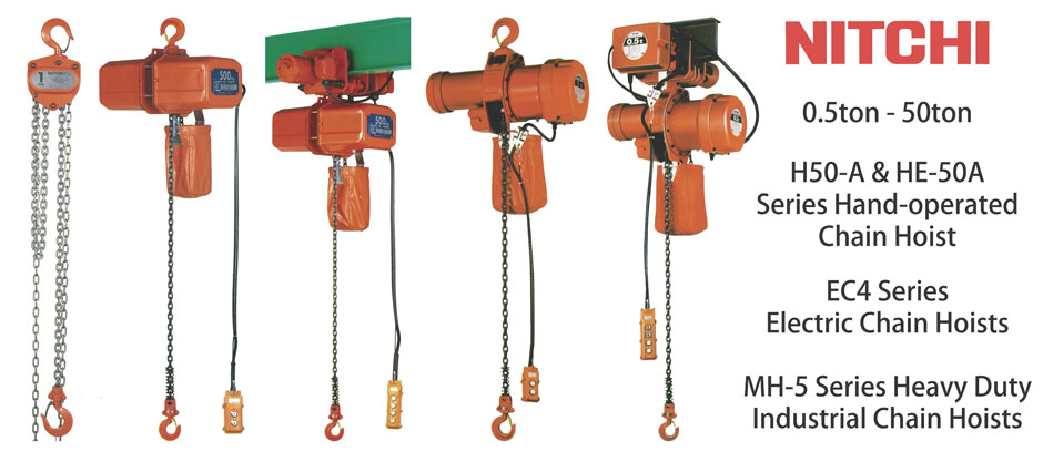 1 nitchi electric & manual chain hoist hup hong machinery (s) pte ltd nitchi electric chain hoist wiring diagram at webbmarketing.co
