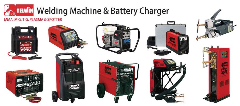 Telwin welding machines & battery chargers