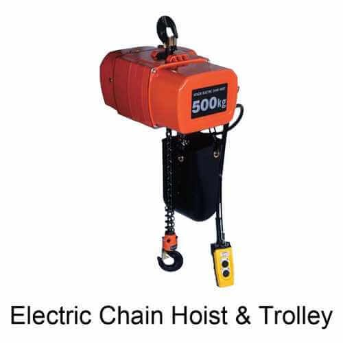 Electric Chain Hoist & Trolley