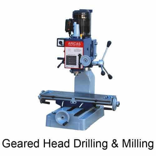 Geared Head Drilling & Milling Machine