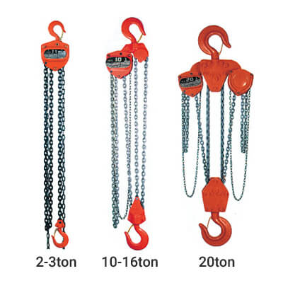 H 50a Series Manual Chain Hoist Amp Trolley Hup Hong