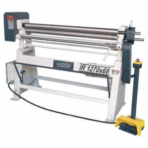 IR Series Motorised Plate Bending Machine
