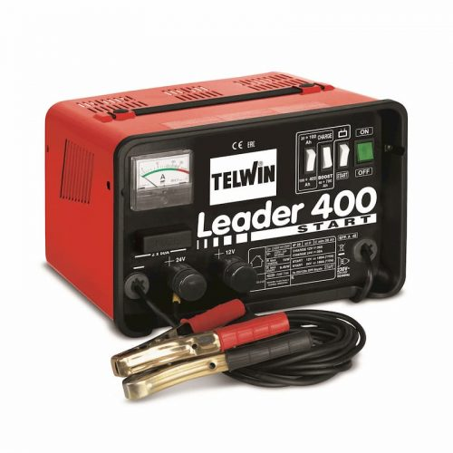 Leader 400 Start Battery Charger and Starter