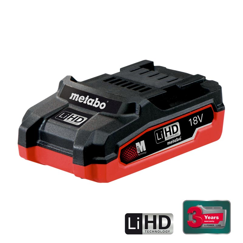 BATTERY PACK LIHD 18 V – 3.1 AH
