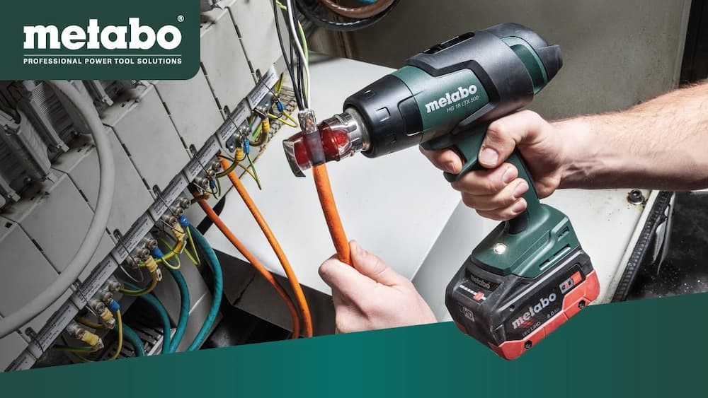 Read more about the article New Cordless Heat Gun METABO HG 18 LTX 500