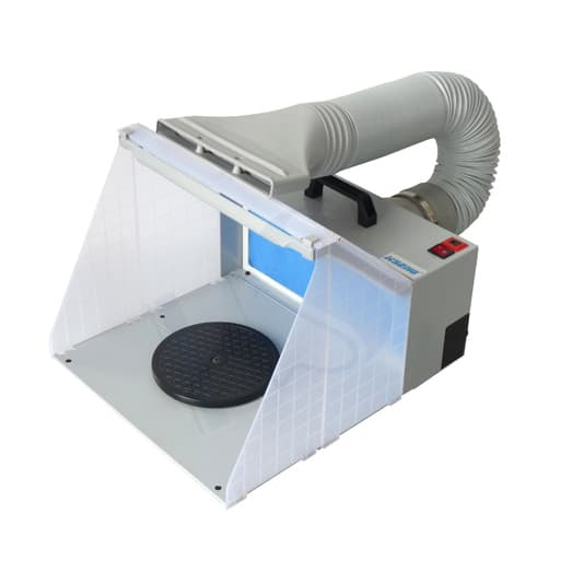 HS-E420DCLK Spray Booth