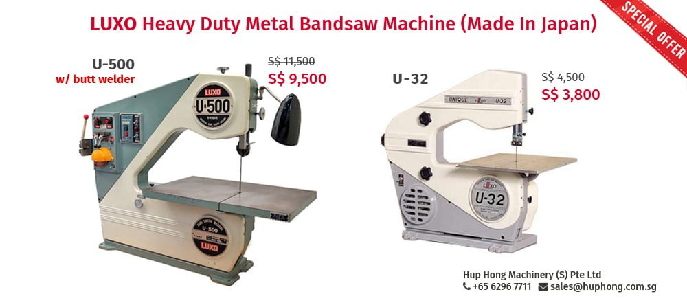 LUXO metal bandsaw machine
