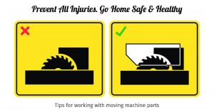 Go Home Safely, Prevent Injury with Safety Guards for Machines