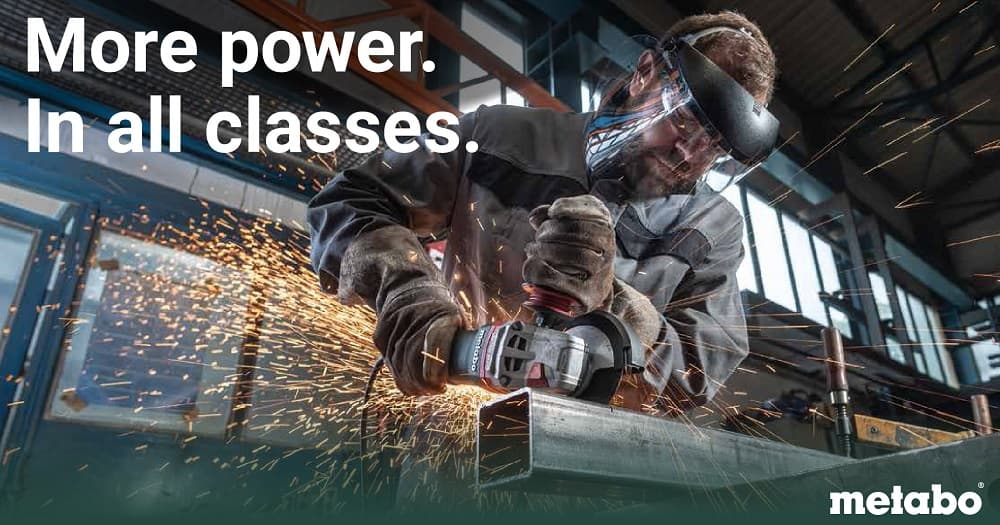 METABO Angle Grinder: More Power. In All Classes.
