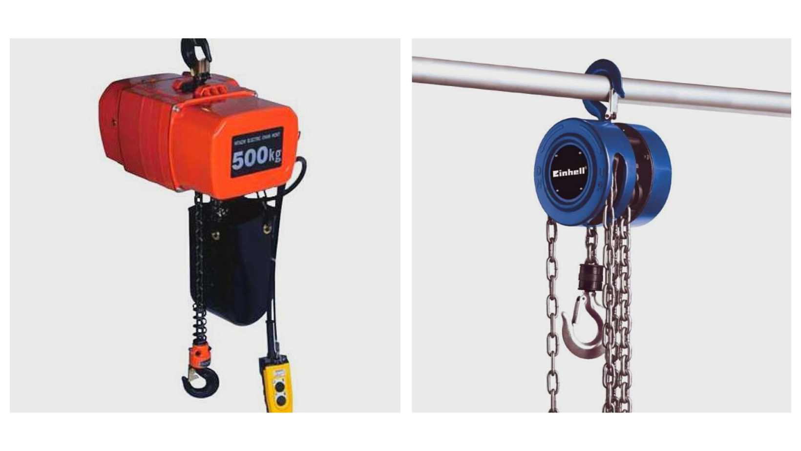 You are currently viewing Electric Chain Hoists Vs. Manual Chain Hoists: What Is The Difference?