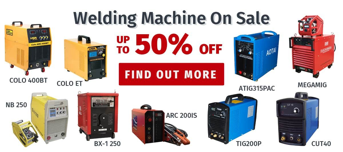 Welding machine & plasma cutter for sale, up to 50% off