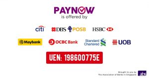 Hup Hong Machinery Now Accepts PayNow!