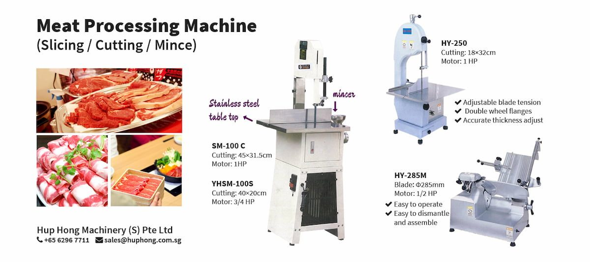 Meat Slicing / Cutting / Mince Machine