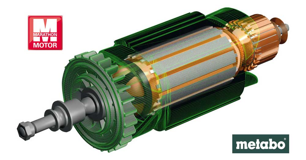 METABO MARATHON-MOTOR: High Performance for Demanding Applications