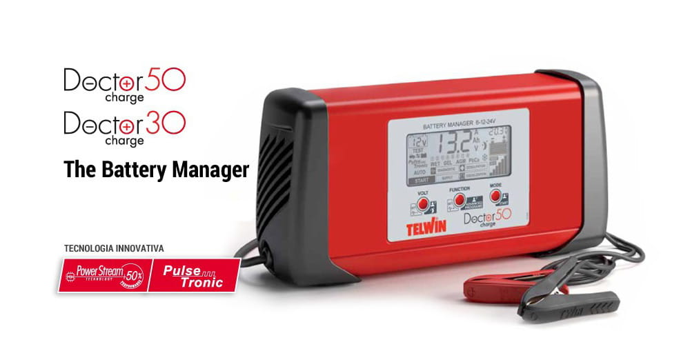 Telwin Doctor Charge – Lots More Than Just Battery Chargers!