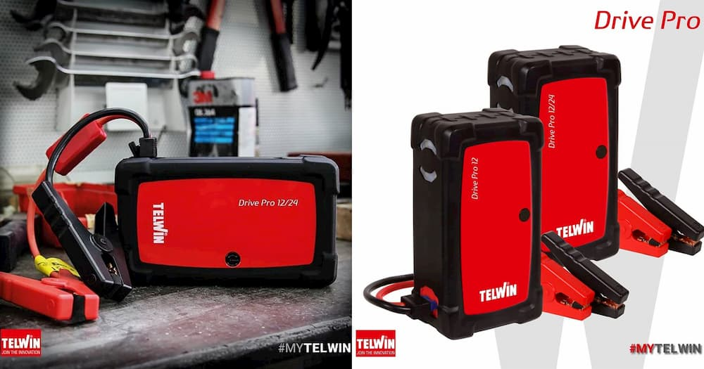 Telwin Drive Pro: The Drive Range of Lithium Multifunctional Starters Becomes Pro